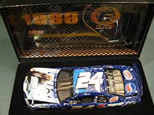 1999 #24 Jeff Gordon Star Wars Pepsi Fritos Edition Racing Collectables Car of America RCCA ELITE 1/24 Scale Diecast Top of the Line Diecast Hood Opens, Trunk Opens HOTO Individually Serialized Limited Edition Only 7500 Made