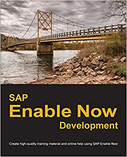 Amazon Com Applicationhelp >> Sap Enable Now Development Create High Quality Training Material