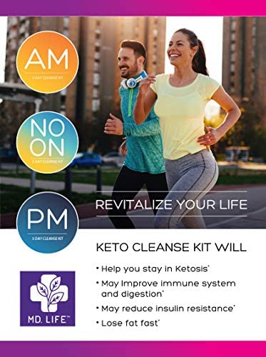 MD Life Keto Diet 5 Day Starter Cleanse Kit Detox Diet Pills Lose Weight No Carb Maintain Rapid Ketosis 3