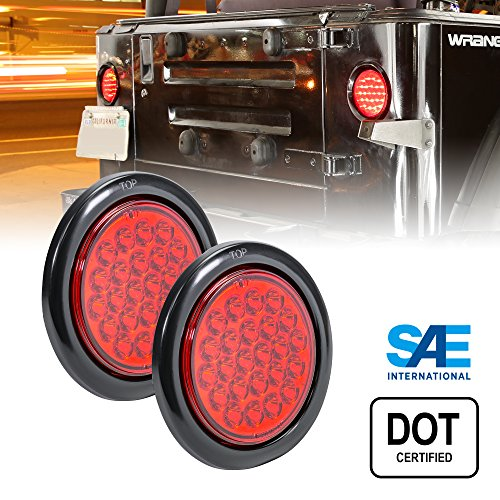 4In Round Led Tail Lights - 6