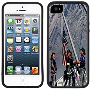 9-11 September 11th Firefighters Handmade iPhone 5s for you Black Case