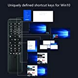 Pepper Jobs W10 GYRO Air TV Remote,QWERTY