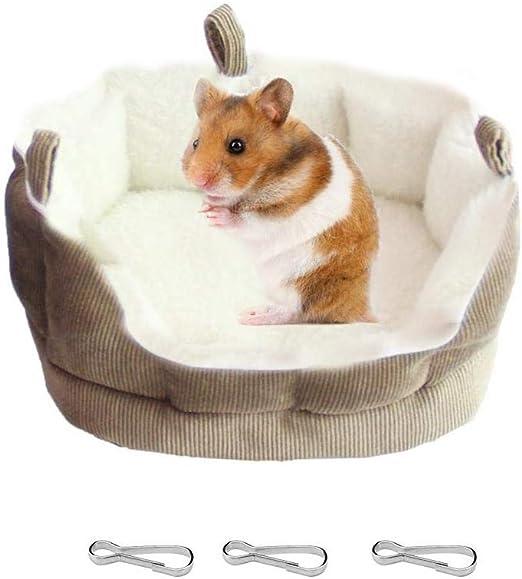 Bello Luna Suave y cálida Cama de algodón de Felpa Que cuelga Hamaca para Ardilla de hámster: Amazon.es: Productos para mascotas