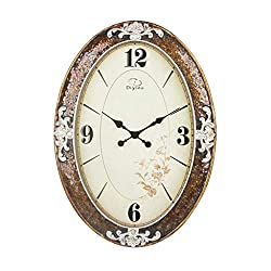 GuoEY European Style Palace Classical Wall Clock High-end Linked Table Mute Resin Personality Creative Quartz Clock