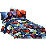 Disney Big Hero 6 Prodigy Microfiber Sheet Set, Twin
