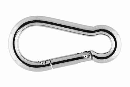 bootszubehoer-online - Mosquetón de acero inoxidable