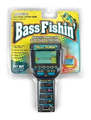 Radica Electronic Game - Bass Fishing Handheld