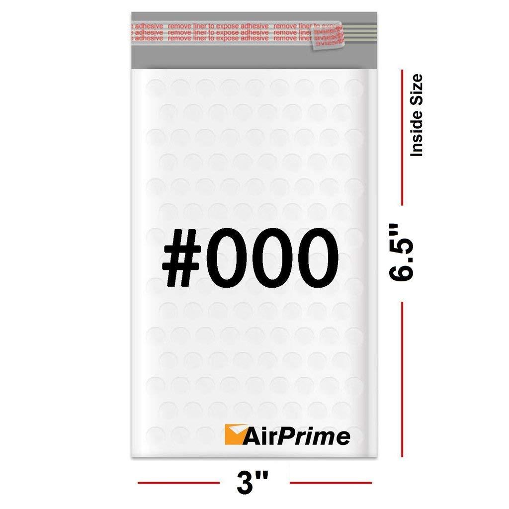 Lot of 100 #000 4x8 Poly Bubble Mailer Padded Envelope Bag Bulk Mail USPS Shippi