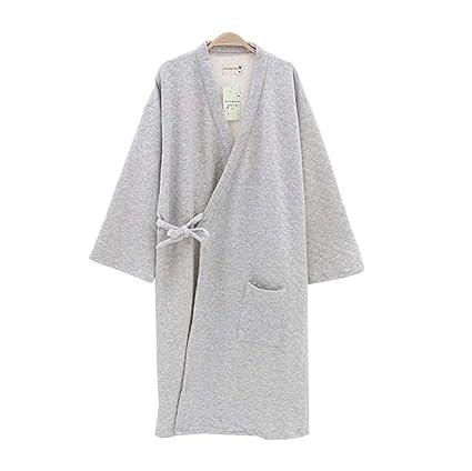 Pijamas de invierno para hombre Kimono Piel más gruesa invierno estilo japonés, A1