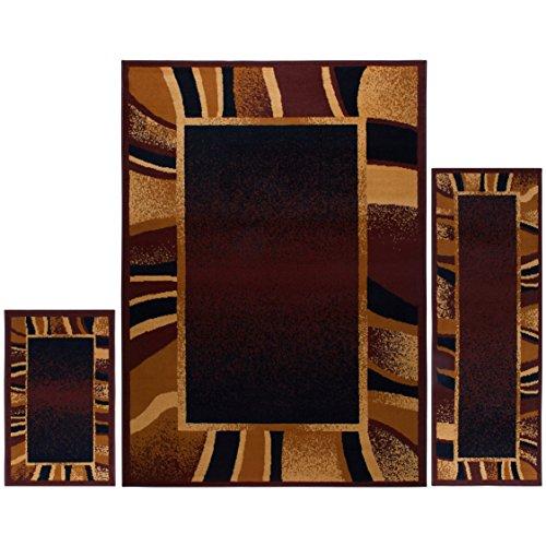 (Home Dynamix 7542-500 Ariana Konya Area Rug 3 Piece Set (4'11