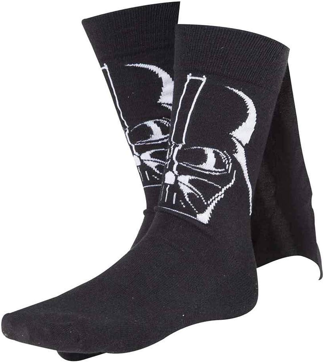 Meroncourt Darth Vader Cape Calcetines para Hombre