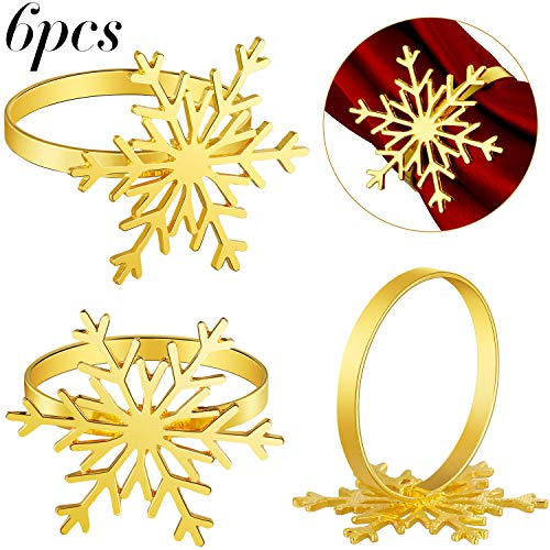 Top 10 gold napkin rings set of 6