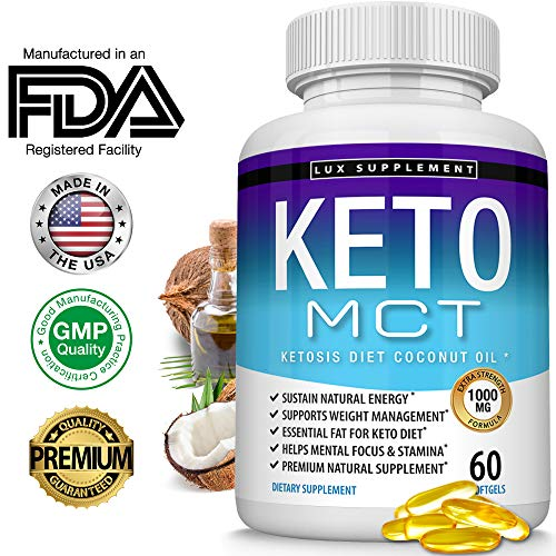 Lux Supplement Softgels Advanced Ketosis
