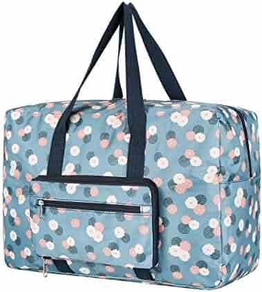 Foldable Travel Duffel Bag, Waterproof Storage Luggage Handbag——for Travel  ,Camping , 305356ae7a9a8