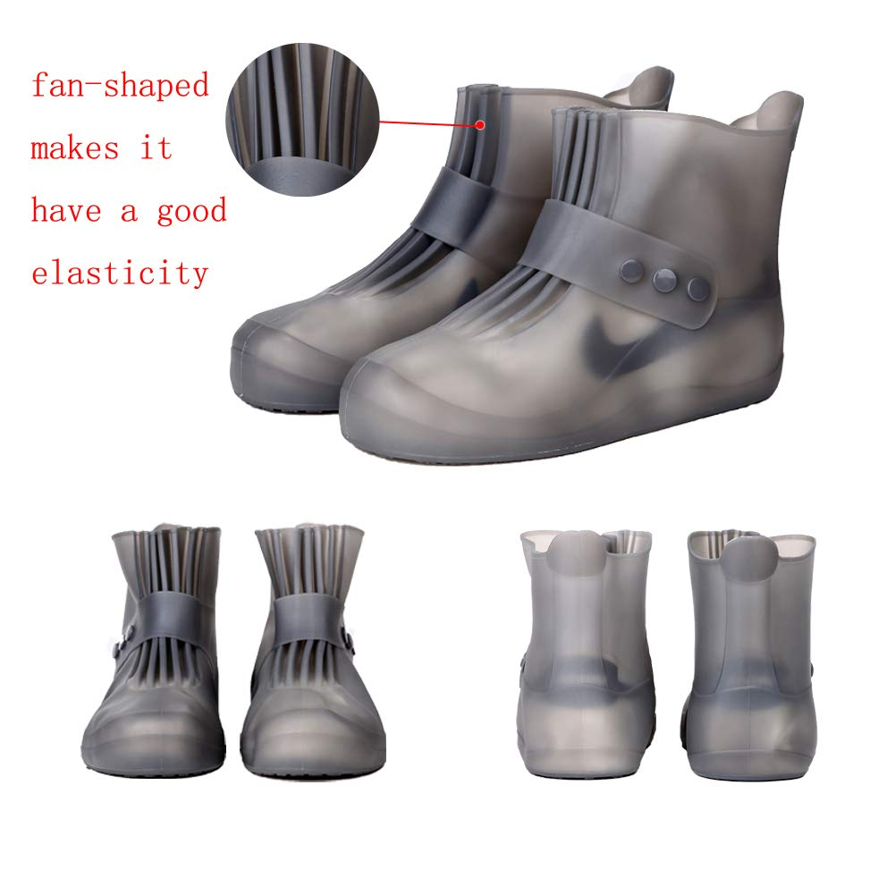 Pastaza Waterproof Shoes Covers Womens Mens Non Slip Durable Short