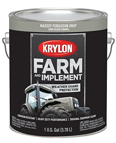 (Krylon 1969 Krylon Farm & Implement Paints Massey Ferguson Gray 128 oz. Gallon Krylon Farm & Implement Paints)