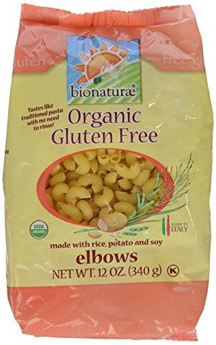 - Bionaturae Organic Gluten Free Elbows, 12 oz (PACK OF 1)