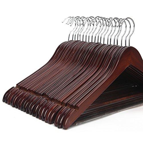 Cherry Wood Suit Hanger - 4