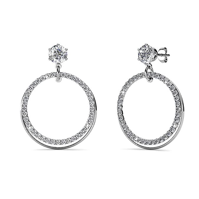 Beydodo Surgical Steel Earrings Men Round Bead Earring Hoop Large 1 Pair Hoop Earrings