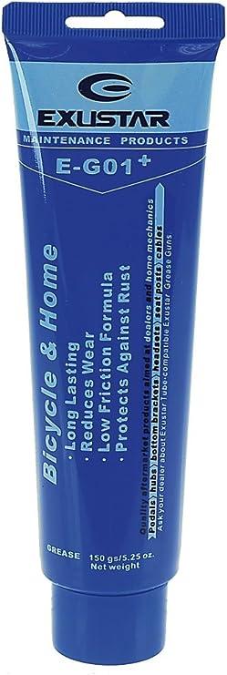 Exustar 880086 - Grasa para Bicicleta, Color Azul: Amazon.es: Deportes y aire libre