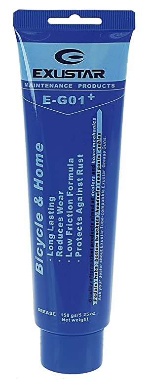 Exustar 880086 - Grasa para Bicicleta, Color Azul