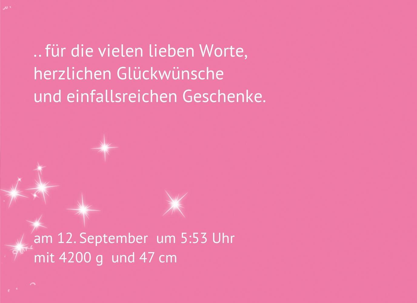 Kartenparadies Danksagung Danksagung Danksagung für Geburt Baby Dankeskarte Star, hochwertige Danksagungskarte Baby inklusive Umschläge   10 Karten - (Format  148x105 mm) Farbe  RosaRosa B01MZFQ51V | Deutschland Online Shop  | Treten Sie ein in die Welt der Spielzeu be6723