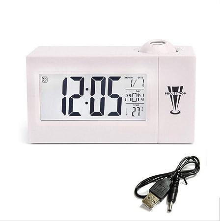Radio Despertador Digital Madera Reloj Despertador ...