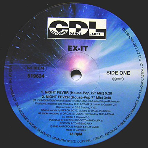 Ex-It - Night Fever - CDL - Cologne Dance Label - ()