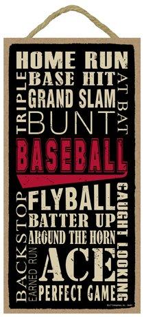(SJT ENTERPRISES, INC. Baseball (Word Art) 5
