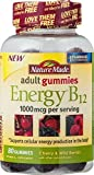Cheap Nature Made Energy B-12 Adult Gummies Cherry & Wild Berries – 80 Gummies (Pack of 2)