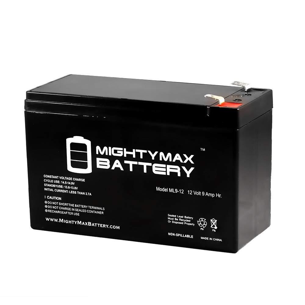 Amazon.com: Mighty Max Battery 9Ah 12V Sealed BATTERY Fits Aqua Vu Marcum  Vexilar 12VOLT brand product: Home Audio & Theater