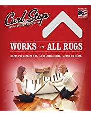 Curl Stop Anti-Curling Rug System (Pack of 4 Corners)
