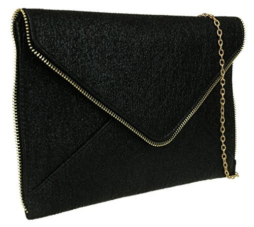 senza manici Borsetta Donna Girly Nero HandBags wETqAAW6
