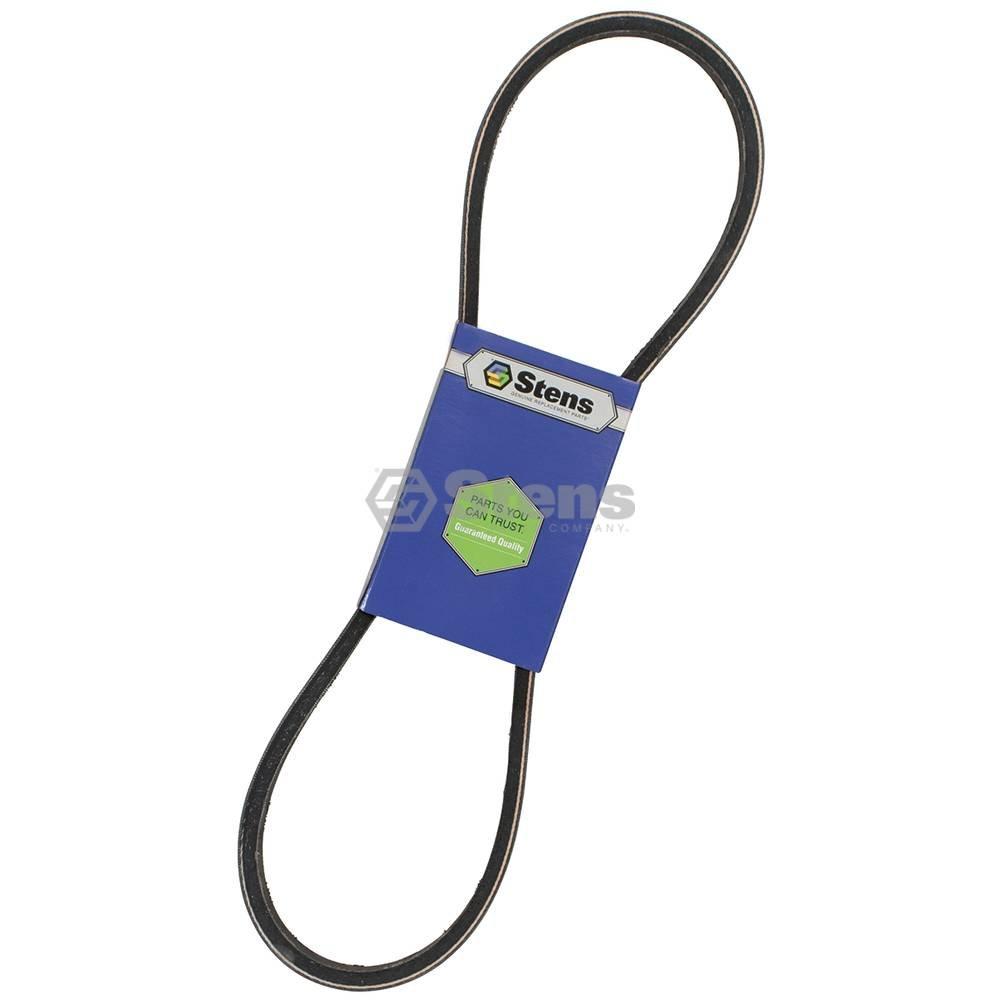 Replaces John Deere M805011 1//2in W 37-3//4in L Stens 266-123 Raw Edge Fan Belt
