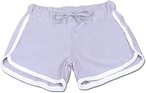 DKXLW Pantalones Cortos De Mujer,Causales Gris Verano Niñas ...