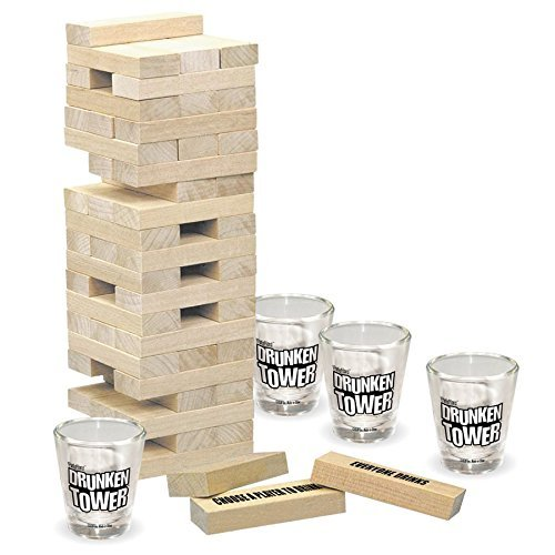 ICUP iPartyHard -  Drunken Tower: The Grab A Piece Adult Drinking Game Beer Drinking Games