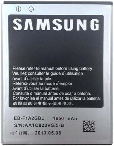 Samsung Eb F1a2gbu 1650 Mah Battery Sealed In Retail Packaging For Samsung Galaxy S Ii Gt I9100 Galaxy S Ii Gt I9108 Galaxy S Ii Sgh I777