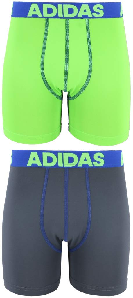 Adidas Boys Sport Performance Climalite Boxer Breve Ropa Interior (2 Unidades), Niños, 200570, Azul, Large: Amazon.es: Deportes y aire libre