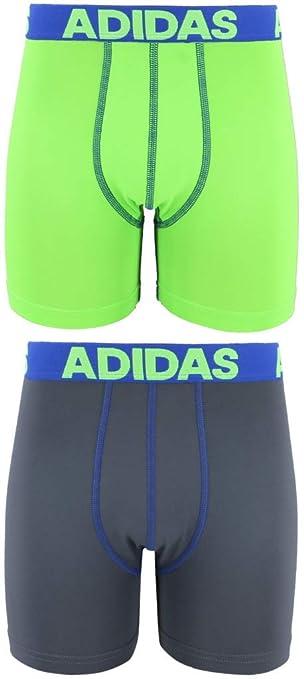 d944ed9c6f260 adidas Boys Sport Performance Climalite Boxer Brief Underwear (2 ...
