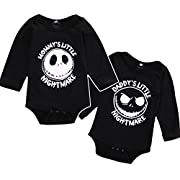 Quietcloud Newborn Infant Baby Boys Girls Long Sleeve Romper Jumpsuit Halloween Outfit