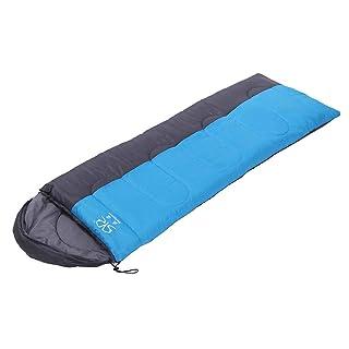 MISS&YG Busta Sacco a Pelo-Adulto Singolo 3/4 Stagione Sleeping Bag e Bambini Sacco a Pelo per Campeggio all'aperto-Leggero, Compatto, Impermeabile, Confortevole e Caldo Sonno