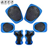 Kids Protective Gear Set, Gift for 3-8 Year Old Boys Girl Knee Pads for Kid Age of 10-15 Boy Girl Toy for 5 Year Old Boy Birthday Present for Children Elbow Pads Kid Gifts
