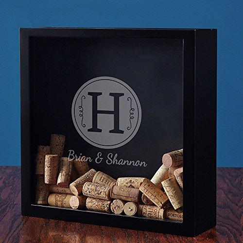Renza Custom Wine Cork Shadow Box (Customizable Product) by HomeWetBar (Image #1)