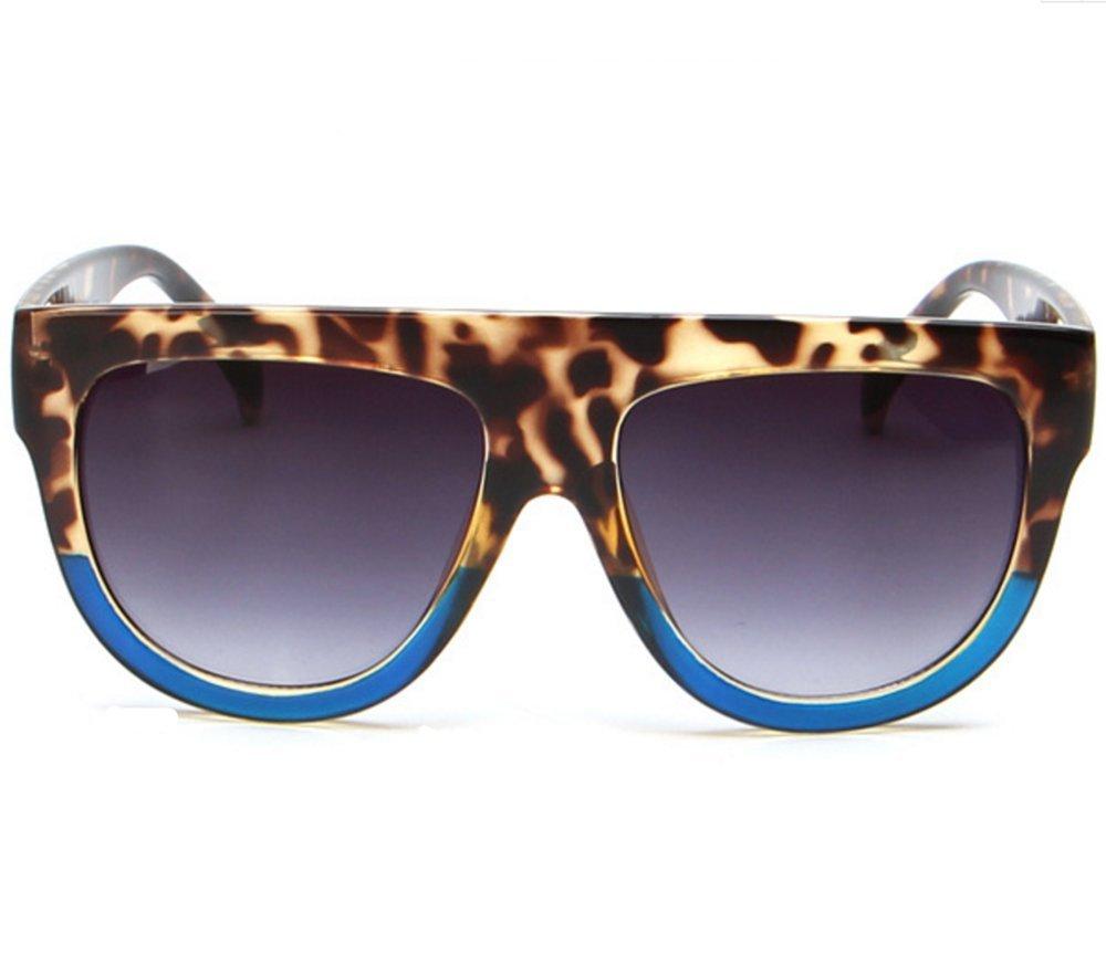 Qissy Damen Herren Modisch Designer Sonnenbrille Polarisierte Aviator Brillen (Schwarz Voll) 6v9C1d
