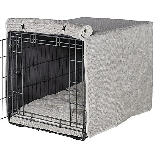 Bowsers Luxury Crate Cover, Medium, Aspen