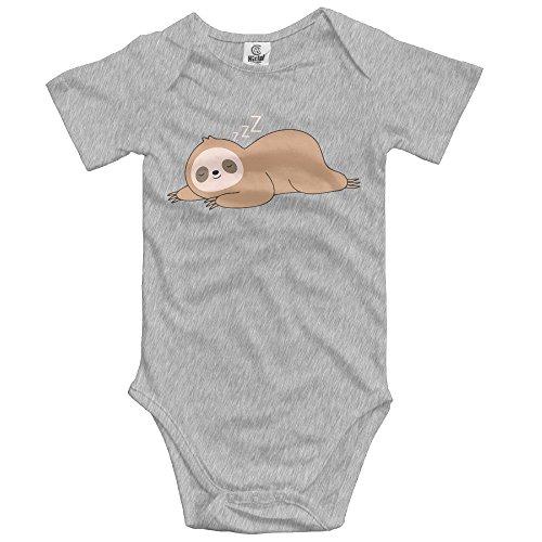 Newborn Baby Girl Clothes Cute Lazy Sloth Baby