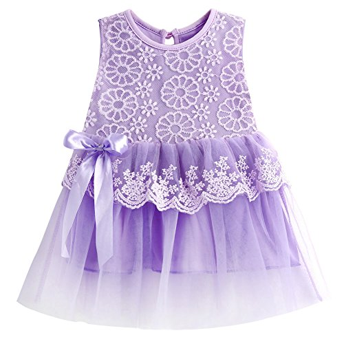 a0e2865f4 MIOIM Adorable Infant Baby Girls Lace Flower Tutu Tulle Dress Party  Princess Dresses - Buy Online in Oman. | Apparel Products in Oman - See  Prices, ...