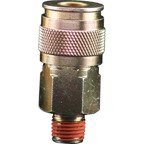 Bostitch BTFP72320 Universal 1/4-Inch Series Coupler Push-To-Connect with 1/4-Inch NPT Male Thread