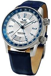 Vostok-Europe Men's 2426/5601057 Gaz-14 Limo Automatic Silver Dial Watch