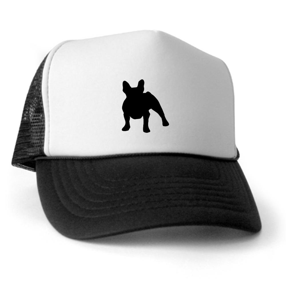 d84c3fd368a Amazon.com  CafePress - French Bulldog Trucker Hat - Trucker Hat ...
